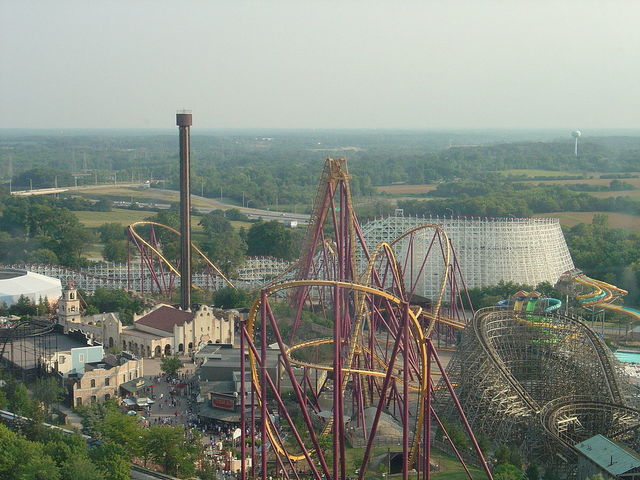 Six Flags Opens