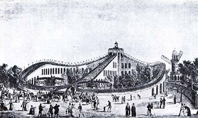 The first complete roller coaster