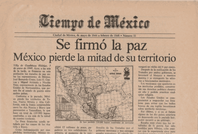 Tratado de Guadalupe y adiós a México