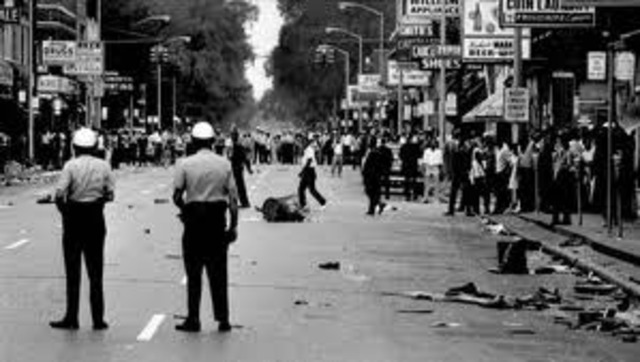 Civil Rights Riots in Chicago