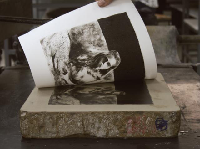 Orígenes de la litografía