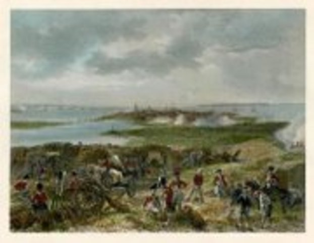 Seige of Charleston, SC