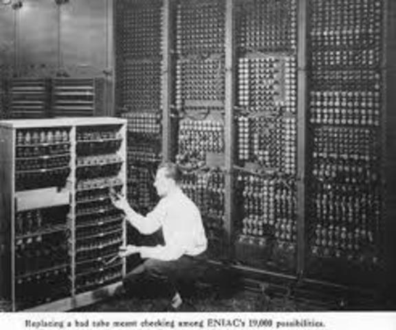 Computadoras de válvula de vació 1937