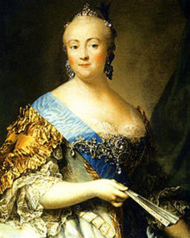 Empress Elizabeth Death