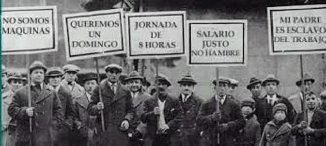 Primera huelga general española