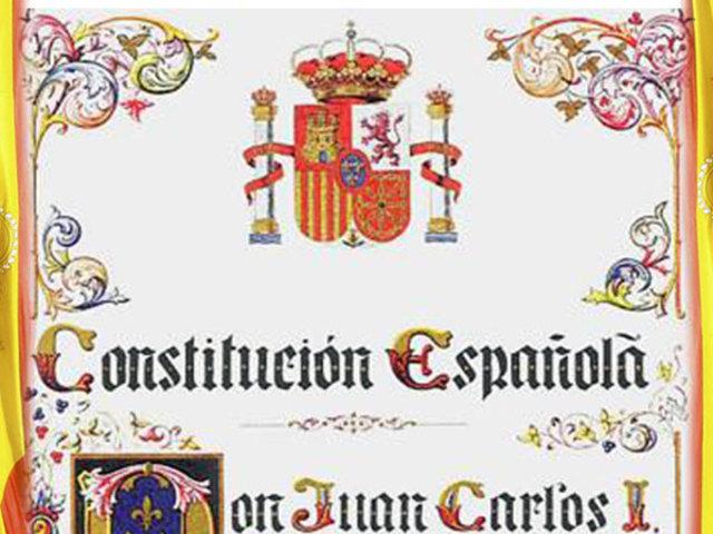 Creación de la constitución española
