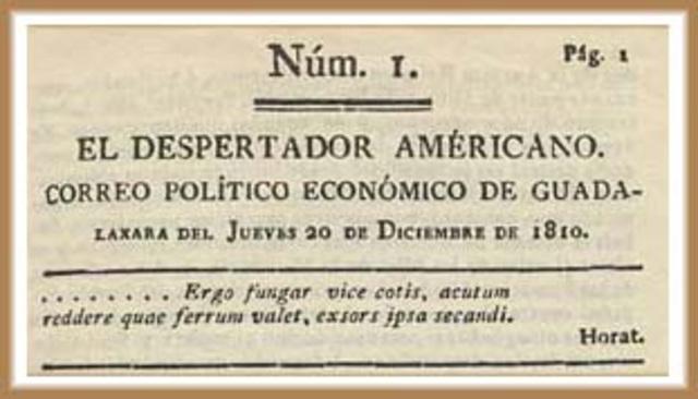 Hidalgo elimina la esclavitud / Despertador americano