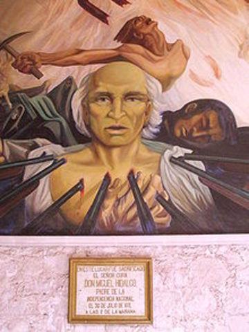 Aprisionan a Hidalgo y Allende