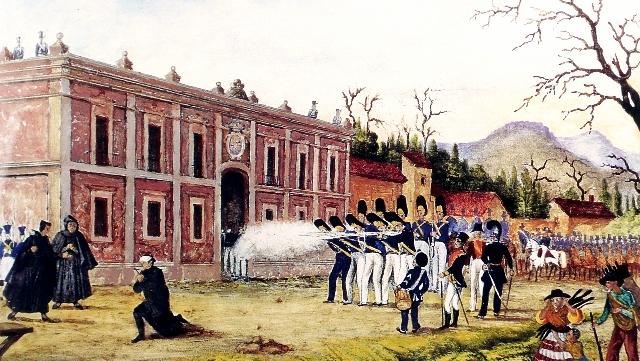 Fusilan a Morelos