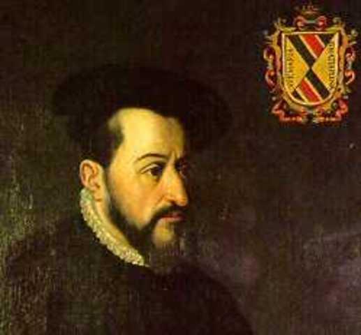 Llega el 1° virrey Antonio de Mendoza a la Nueva España