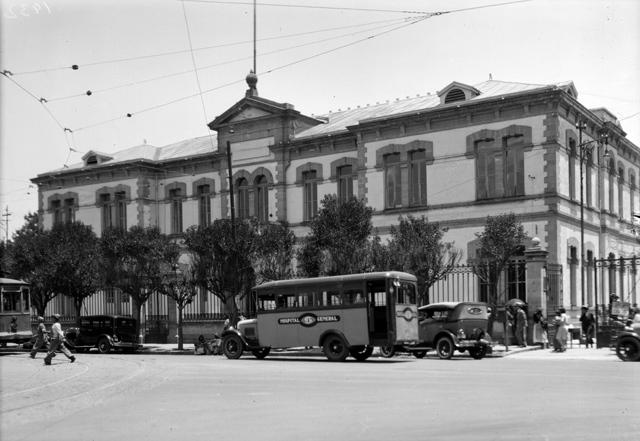 Hospital General en la Ciudad de México