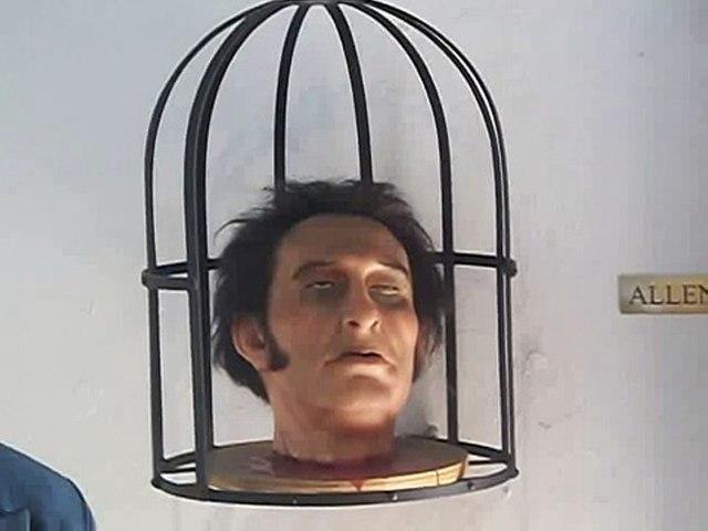 Exposición de las cabezas decapitadas de Hidalgo, Aldama,allende y Jiménez en las 4 esquinas de la alhóndiga de granaditas