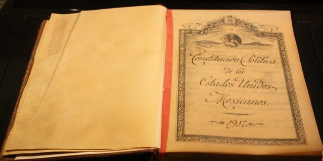 Constitución actual