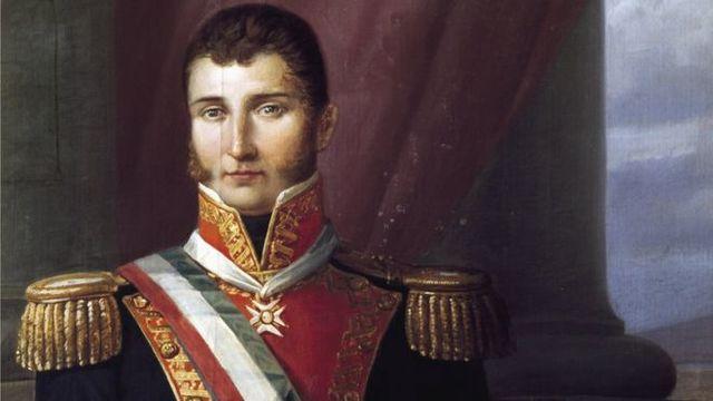 Agustín de Iturbide se dirige a combatir a Guerrero