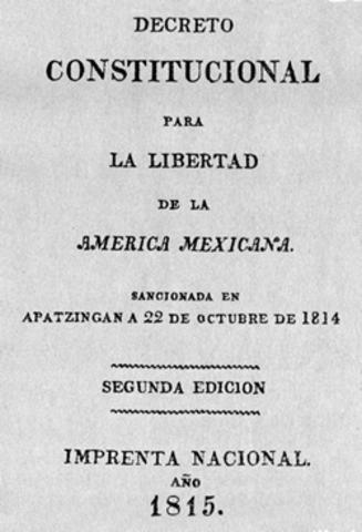 Se promulga la 1° constitución de México