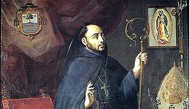 Llega Fray Juan de Zumárraga