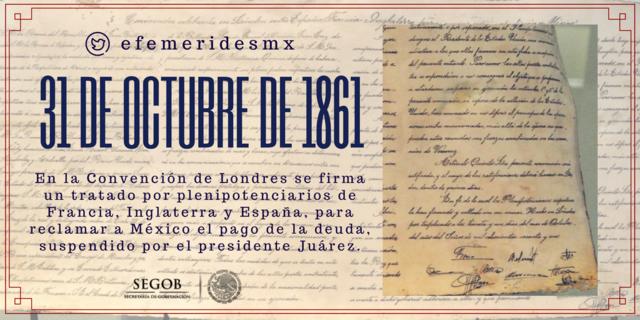 México suspende el pago de la deuda externa: convención de Londres