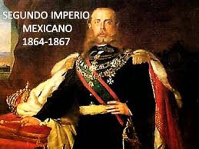 Se establece el imperio de Maximiliano