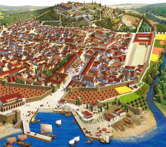 Aparición de las ciudades-Estado (Polis):