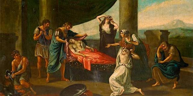 Alejandro Magno muere en Babilonia.