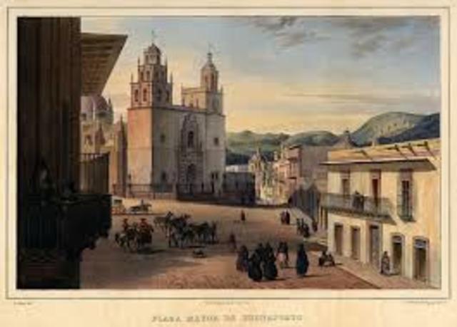 Tras haber sido decapitados los cuerpos de los insurgentes, llegan a Guanajuato las cabezas de Hidalgo, Allende, Aldama y Jiménez