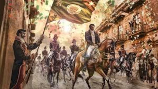 Se consuma la independencia de México.