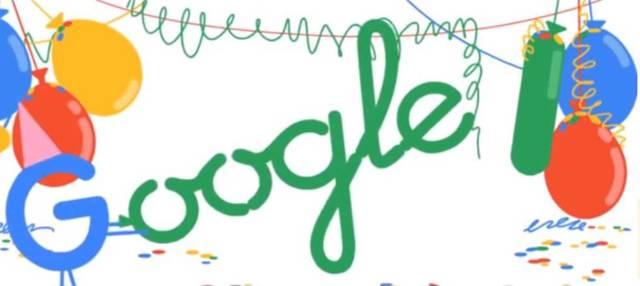 18 Aniversario de Google