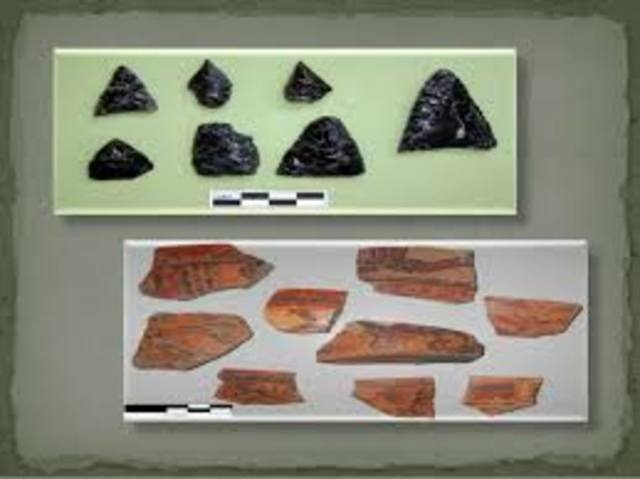 Periodo pre-cerámico o Paleo Indio