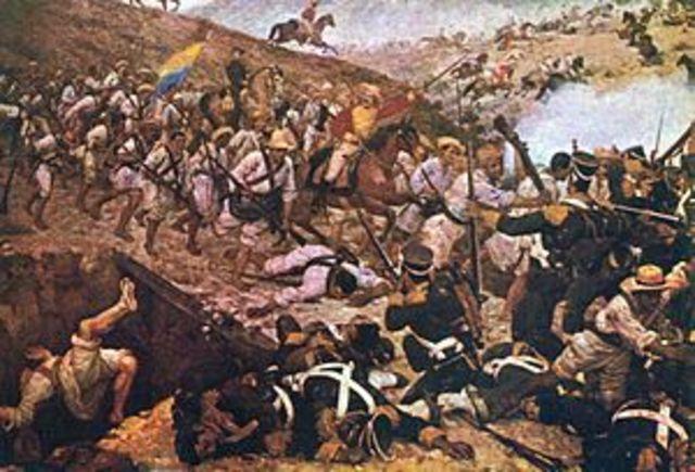 La independencia  de Colombia