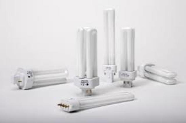 Lamparas fluorescentes compactas