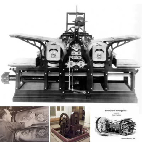 Steam Printing Press