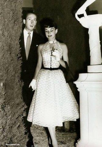 Hepburn's First Engagement