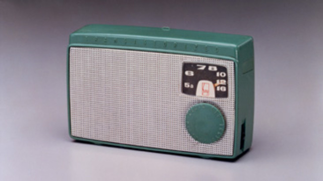 sony realeses there first transister radio