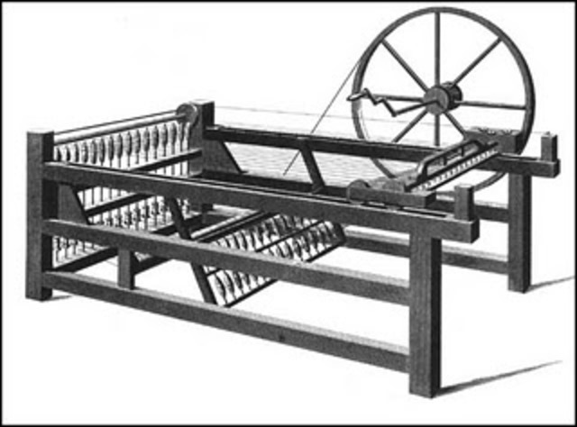 Spinning jenny(yoti y miguel)   industria textil