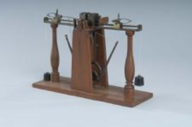 John Greenough patented the first machine in the US