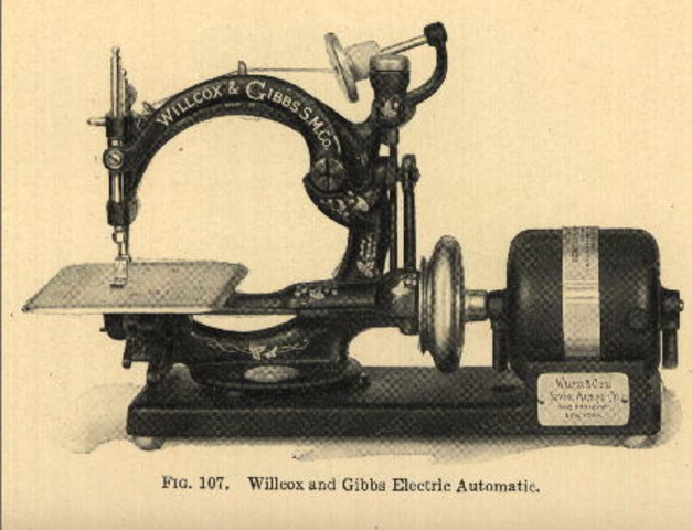 James Gibbs creates first chain-stitch single-thread