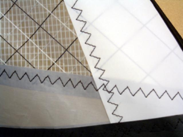 Helen Blanchard patented the first zig-zag stitch machine