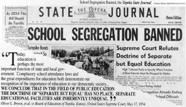 Brown vs. Board of Education