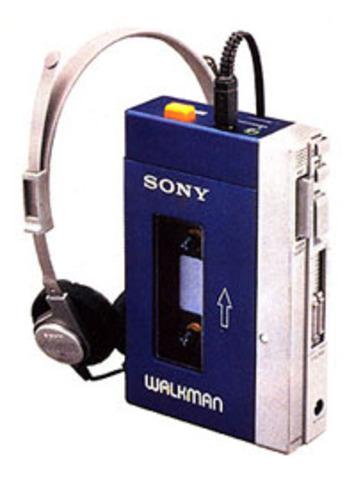 TPS-L2 Walkman cassette player.