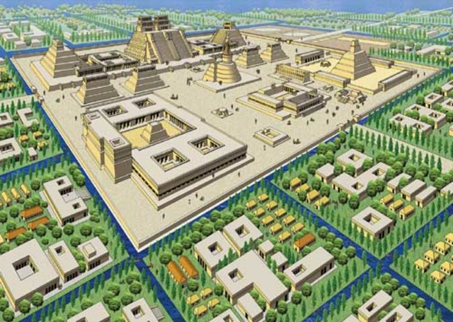 Tenochtitlan and Foundation of New Spain