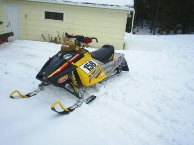 BRP Refines Its Ski-Doo MXZx For The 2004-2005 Racing Season