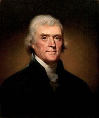 Jefferson Elected President
