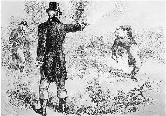 Alexander Hamilton's death