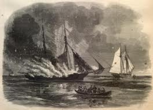 "The first naval battle of the Revolution occurred in June 1775 when a group of Maine patriots captured the armed British cutter ""Margaretta"" off Machias."