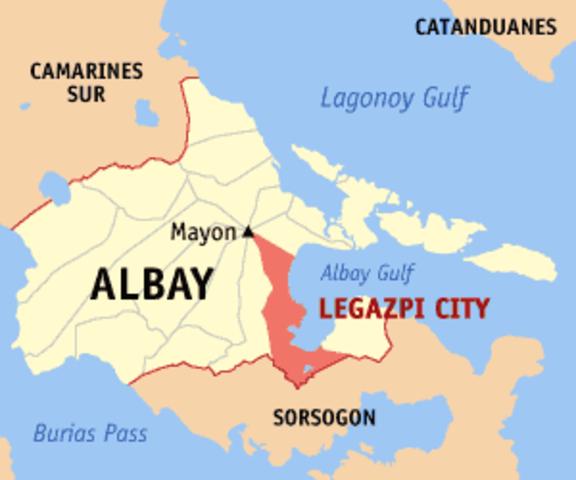 Legazpi as a ruler in Manila