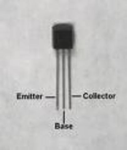 John Bardeen, Walter Brattain, and William Shockley- transistor