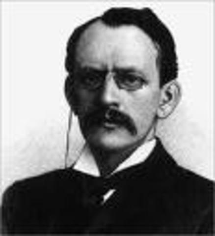 J.J. Thomson- electron