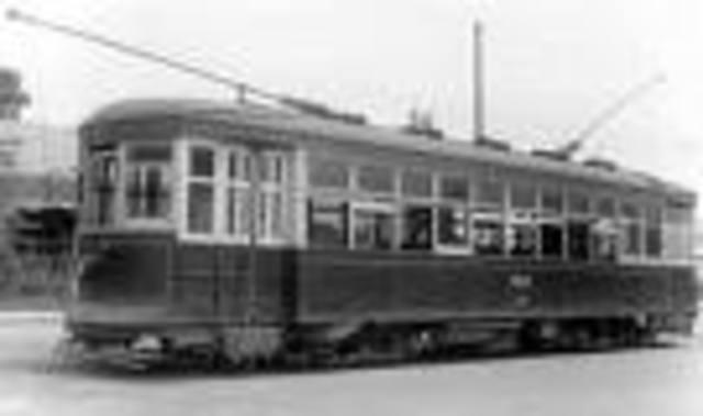 John joseph Wright- eletric streetcar (Canadian)