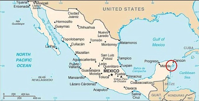 First Spanish in Mexico