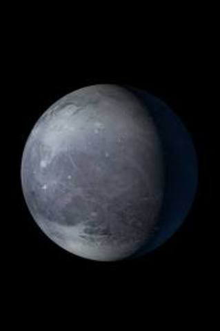 1930 - Clyde Tombaugh discovers Pluto